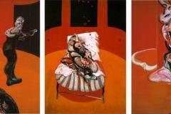3 études pour une crucifixion,  Francis Bacon, 1962 - SL