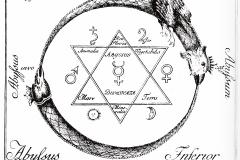 Sceau de Salomon - symbole du fixe et du volatil