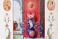 Les armes de l'Art, la Toison d'or, 18ème siècle -wikimedia commons, domaine public
