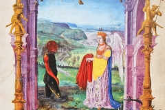 L'homme du marais et l'Ange, Splendor Solis, 16ème siècle - wikimedia commons, domaine public