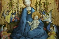 La Vierge à la roseraie, Stephan Lochner, 1448 - wikimedia commons, domaine public