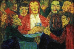 La cène, Emil Nolde, 1909 - SL
