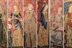 La Dame à la licorne, détails, v. 1500 - SL2019