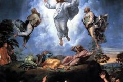 La Transfiguration, détail, Raphaël, 1520 - wikimedia commons, domaine public