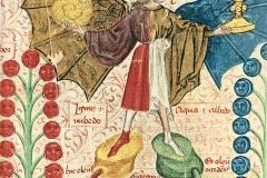 Le rebis alchimique, Le livre de la Sainte Trinité, 15ème siècle - wikimedia commons, domaine public