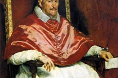 Portrait du Pape Innocent X, Diego Velasquez, 1650