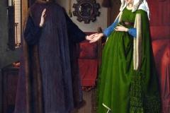 Les époux Arnolfini, Jan van Eyck, 1434 - wikimedia commons, domaine public