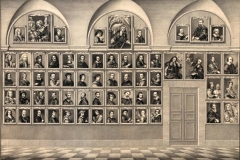 Galerie de portraits Uffizzi, dessin de Neri,1773 - domaine public