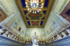 Salle des philosophes, musée romain du capitole - wikimedia commons, par Khalilov, travail personnel CC BY-SA 4.0