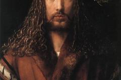Autoportrait, Albrecht Dürer, 1500 - wikimedia commons, domaine public