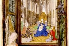 Livre d'heures de Marie de Bourgogne, 1477 - wikimedia commons, domaine public