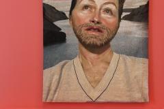 Exposition Cindy Sherman, tapisserie de selfie 2020 - SL2020