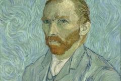 Autoportrait, Vincent van Gogh, 1889 - wikimedia commons, domaine public