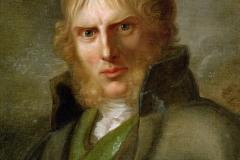 Portrait de Caspar David-Friedrich, Gerhard von Kügelgen, 1820 - wikimedia commons, domaine public