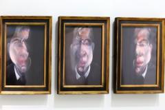3 études pour un autoportrait, Francis Bacon, 1980 - expo Centre Pompidou, 2019 - SL