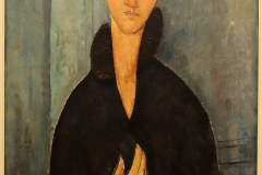 La femme aux yeux bleus, Amedeo Modigliani, 1920 - MAM,SL