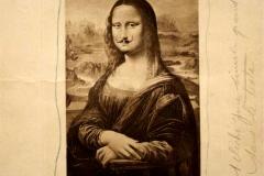 L.H.O.O.Q. , Marcel Duchamp, 1919 - wikimedia commons, domaine public