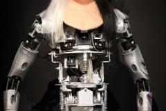 Orlan-oïde, exposition robots, Orlan - SL2018