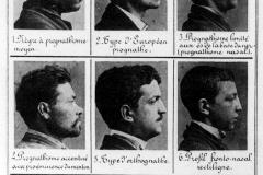 Planche de la Photographie judiciaire, Alphonse Bertillon, 1890 - wikimedia commons, domaine public