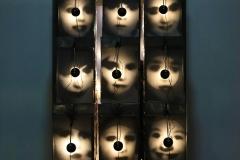 Reliquaire, Christian Boltanski, 1990 - expo Centre Pompidou SL2020