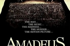 Amadeus, affiche du film, 1984 - wikimedia commons, by source, fair use
