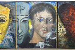 Jim Dine, vallée bleue, 1987 - SL, exposition Beaubourg, 2018