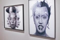 Orlan, série self hybridation africaine, 2002 - exposition ex-Africa 2021