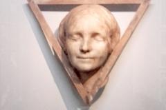 Masque mortuaire, Inconnue de la Seine, Man Ray, 1960 - SL, exposition Maison Rouge,