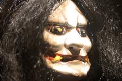 Masque de démon, Japon, fin 19ème siècle- SL, exposition enfers et fantômes d'Asie,