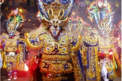 Lucifer, carnaval de Oruro, Andes - wikimedia commons, par Bismarckfg, Travail personnel, CC BY-SA 3.0,