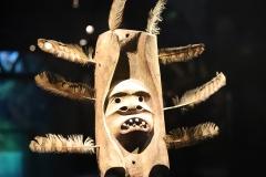 Masque d'esprit yupik de l'Alaska, 19ème siècle - SL, Musée du quai Branly, 2020