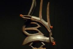 Masque Ciwara, Mali, 20ème siècle - wikimedia commons, par Ji-Elle, travail personnel, CC BY-SA 3.0,
