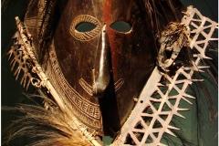 Masque indigène, Détroit de Torres, Australie, 19ème siècle - Wikimedia commons, par Guérin Nicolas, travail personnel, CC BY-SA 3.0