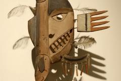 Masque yup'ik du poisson, Alaska, début 20ème siècle - SL, Musée du Louvres, 2020
