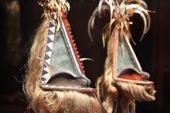 Masque Rom, société secrète masculine, Vanuatu - SL, Musée du quai Branly, 2020