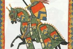 Codex Manesse, B.U. Heidelberg, Allemagne, 14ème siècle - wikimedia commons, domaine public