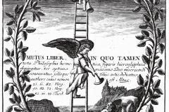Altus, Mutus Liber, page de titre, 1677 - domaine public
