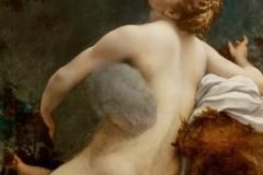 Le Corrège, Io et Zeus, 1531 - wikipedia commons, domaine public