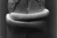 Constantin Brâncuși, le baiser, 1907-1908 - wikimedia commons, Library of Congress, PD-US