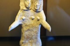 Divinité double, île de Rhodes, 7ème siècle av. J.-C. - SL