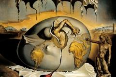Salvador Dali, Enfant géopolitique observant la naissance de l'Homme nouveau, 1943
