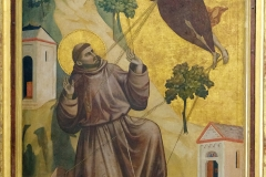 Giotto, St François d'Assise recevant les stigmates, 1297-1299 - wikimedia commons, domaine public