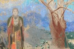 Odilon Redon, le bouddha, 1906-1905 - wikimedia commons, domaine public
