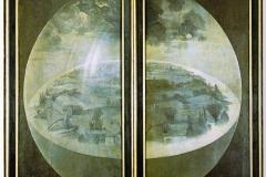 Jérôme Bosch, la création du monde - le jardin des délices, 1494-1505 - wikimedia commons, domaine public