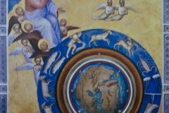 Giusto de Menabuo, la création du monde, 1376 - wikimedia commons, domaine public