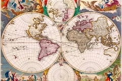 Nicolaes Visscher, Orbis Terrarum Nova et Accuratissima Tabula, 1658 - wikimedia commons, domaine public