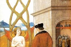 Jean Perréal, la complainte de la Nature à l'alchimiste errant, 1516 - wikimedia commons, domaine public