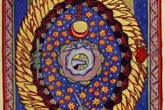 Hildegarde de Bingen, les régions du cosmos, 1165 - wikipedia commons, domaine public