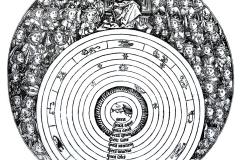 Andreas Cellarius, atlas coelestis seu harmonia macrocosmica, 1661 - domaine public