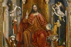 Fernando Gallego, Christ bénissant, 1485 - wikimedia commons, domaine public